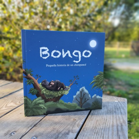 Bongo. Little story of a chimpanzee.